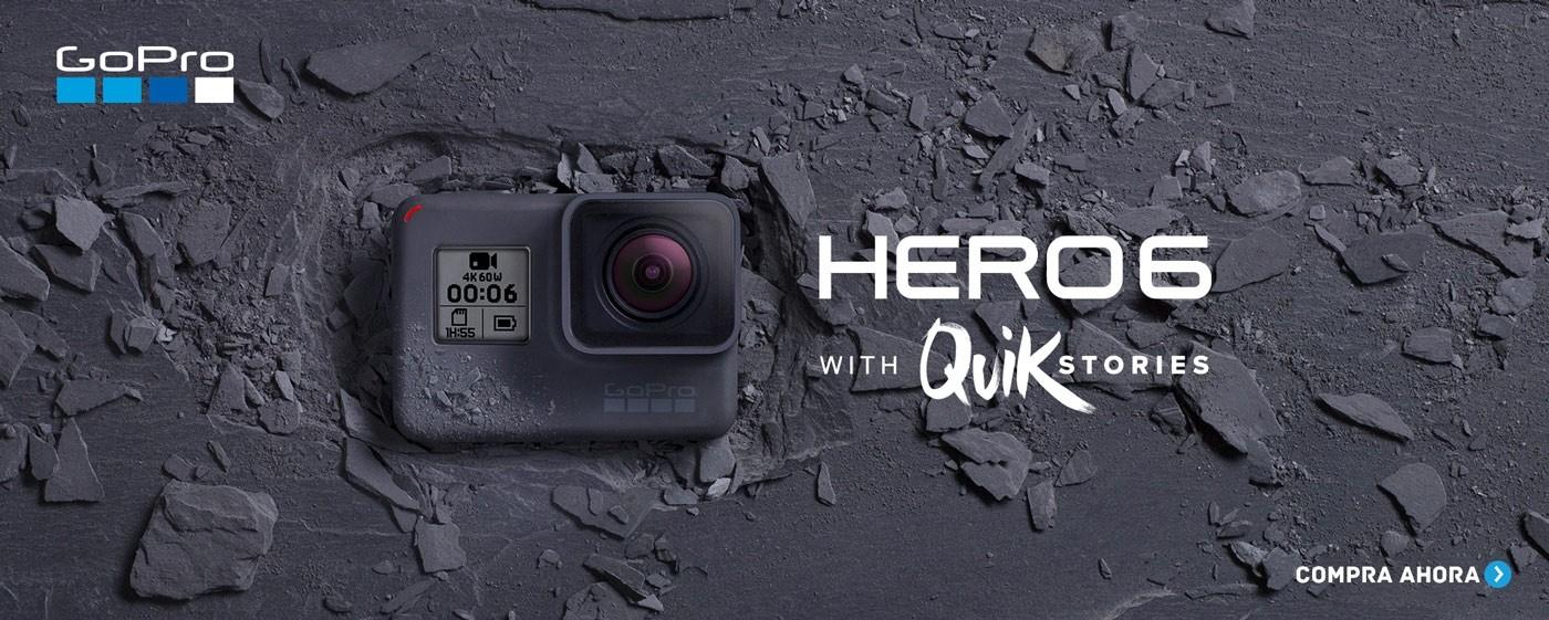 camara GoPro hero6