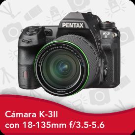 Camara Pentax K-3 II