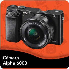 Camara Sony Alpha A6000
