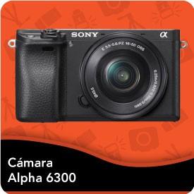 Camara Sony Alpha A6300