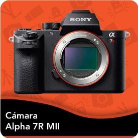 Camara Sony Alpha 7R II