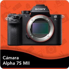 Camara Sony Alpha 7S II